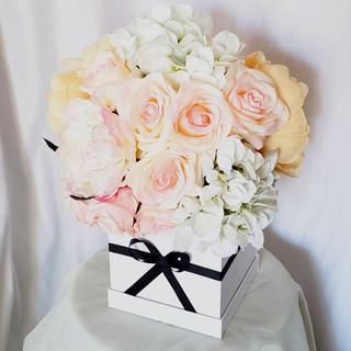 Chanel Inspired Floral Arrangement