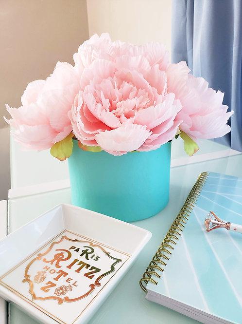Pink Peony Fleur Box