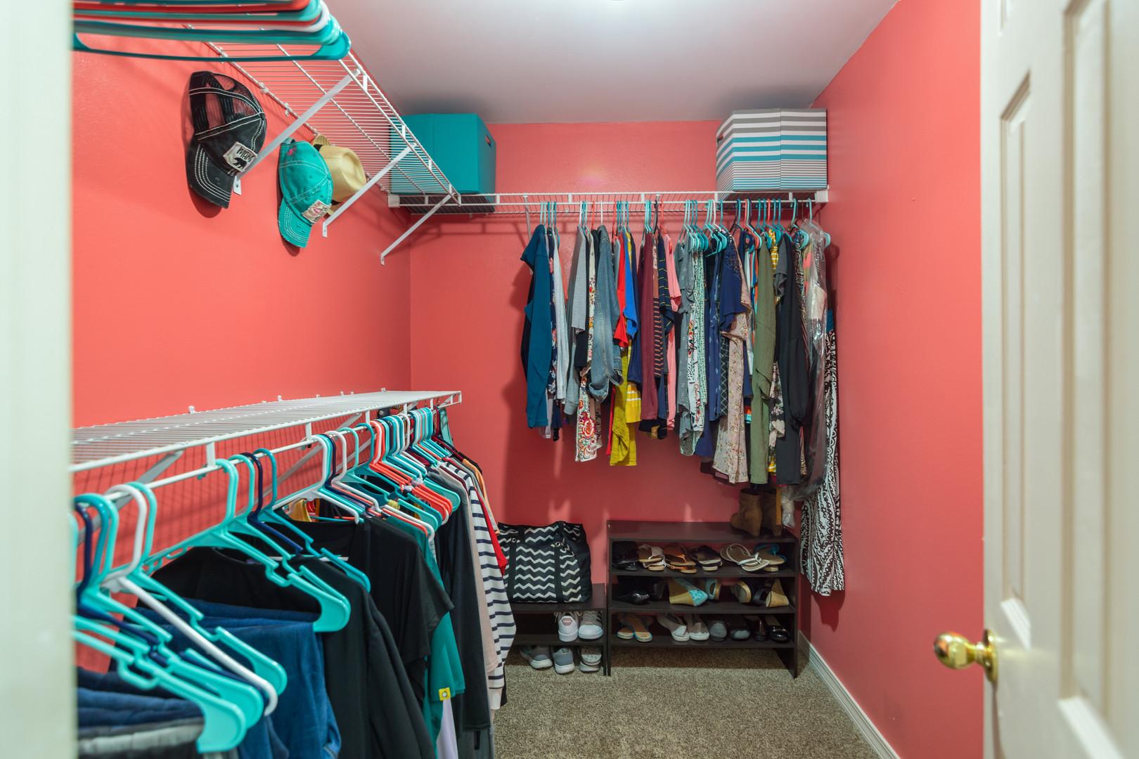 5308 Whitney Ct | Master Walk-in Closet