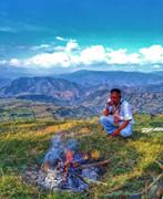 Ritual Ancentral en la Montañas