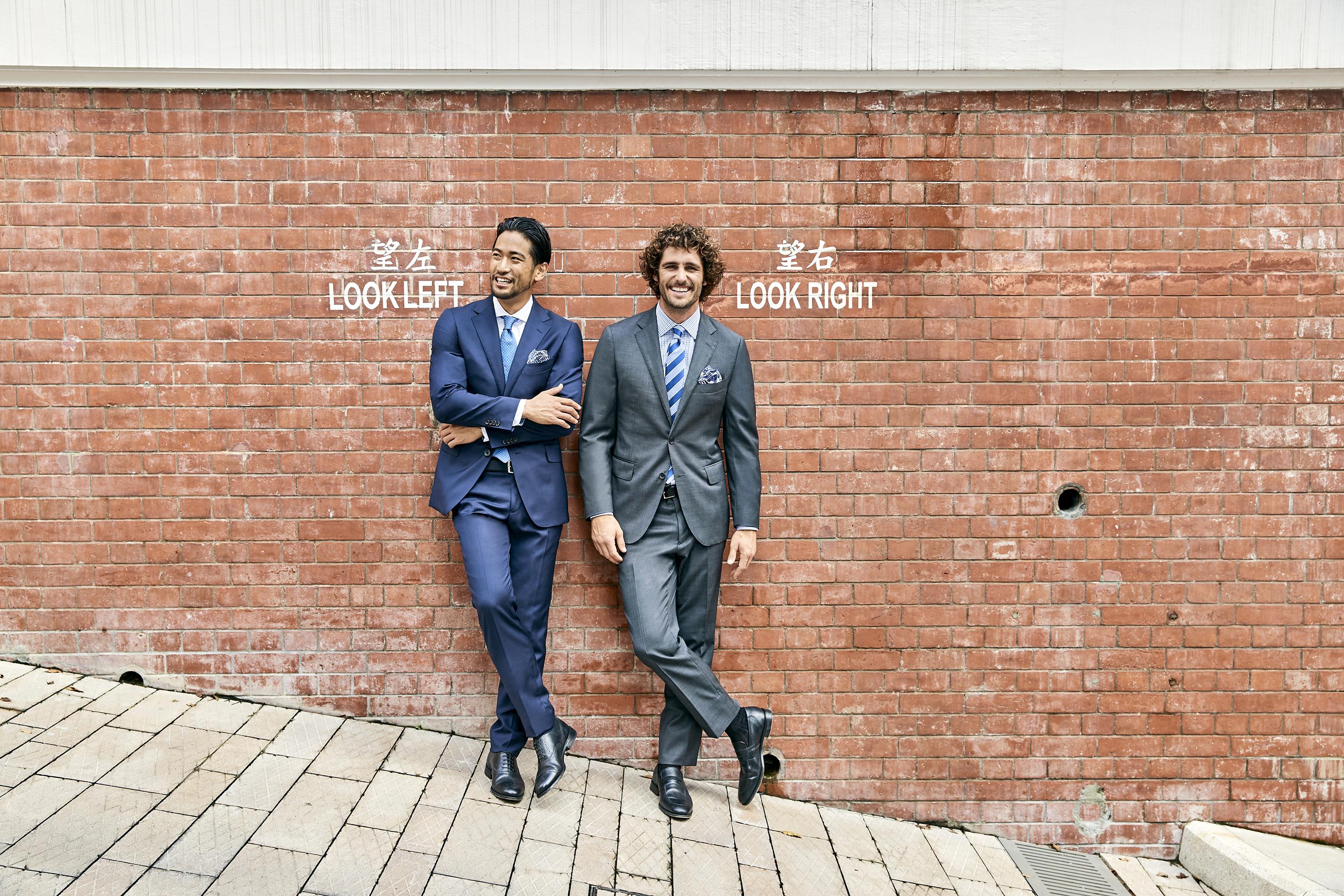 M.J.Bale #campaign #menswear # suits
