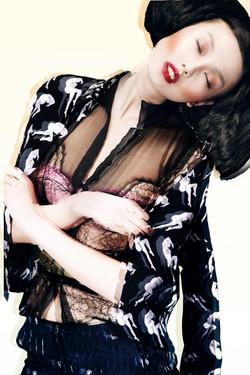 Yu Xiao #fashion #gordonlund #frackeye #asianmodel #HKphotographer #pinupgirl