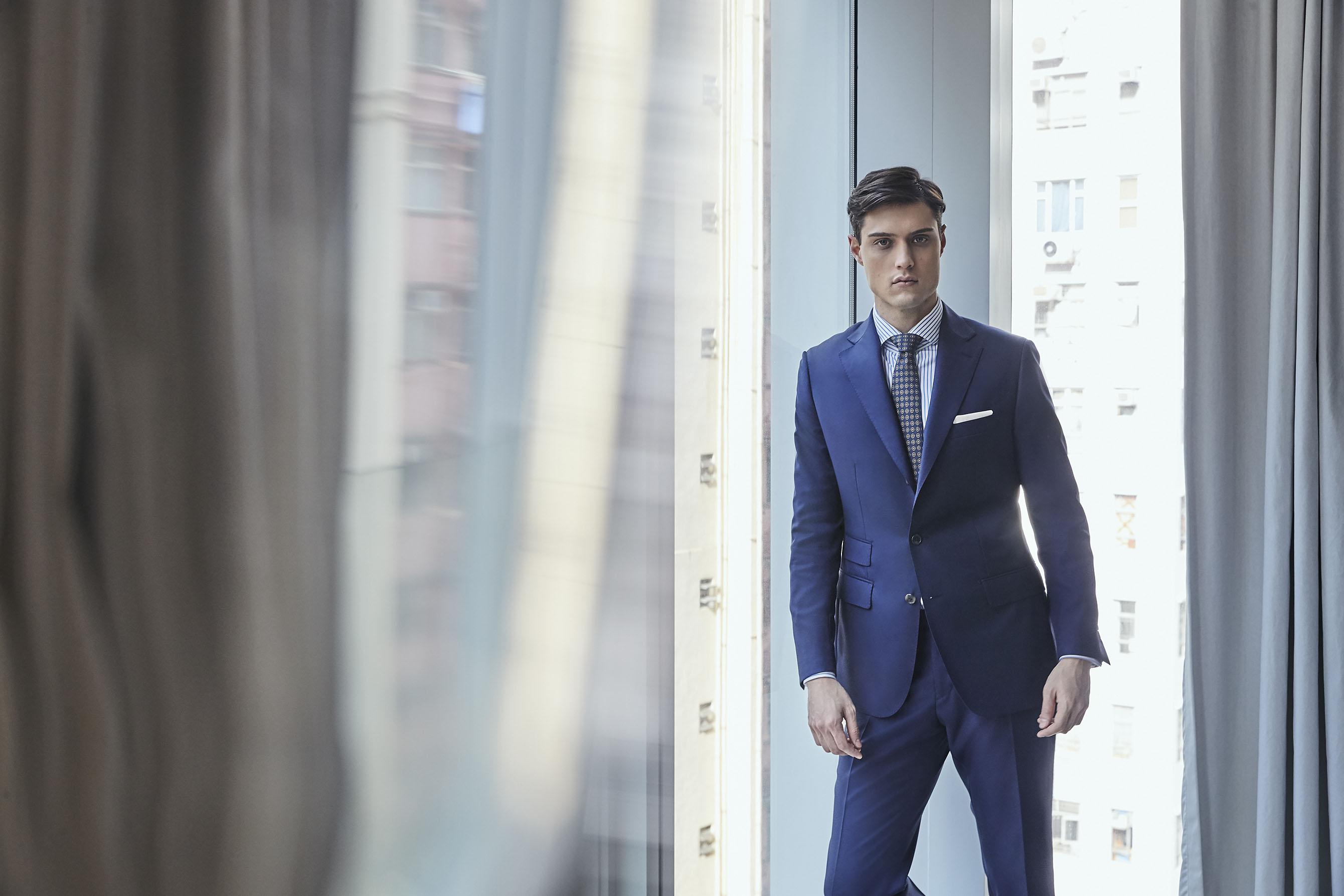 Bespoke suit campaign