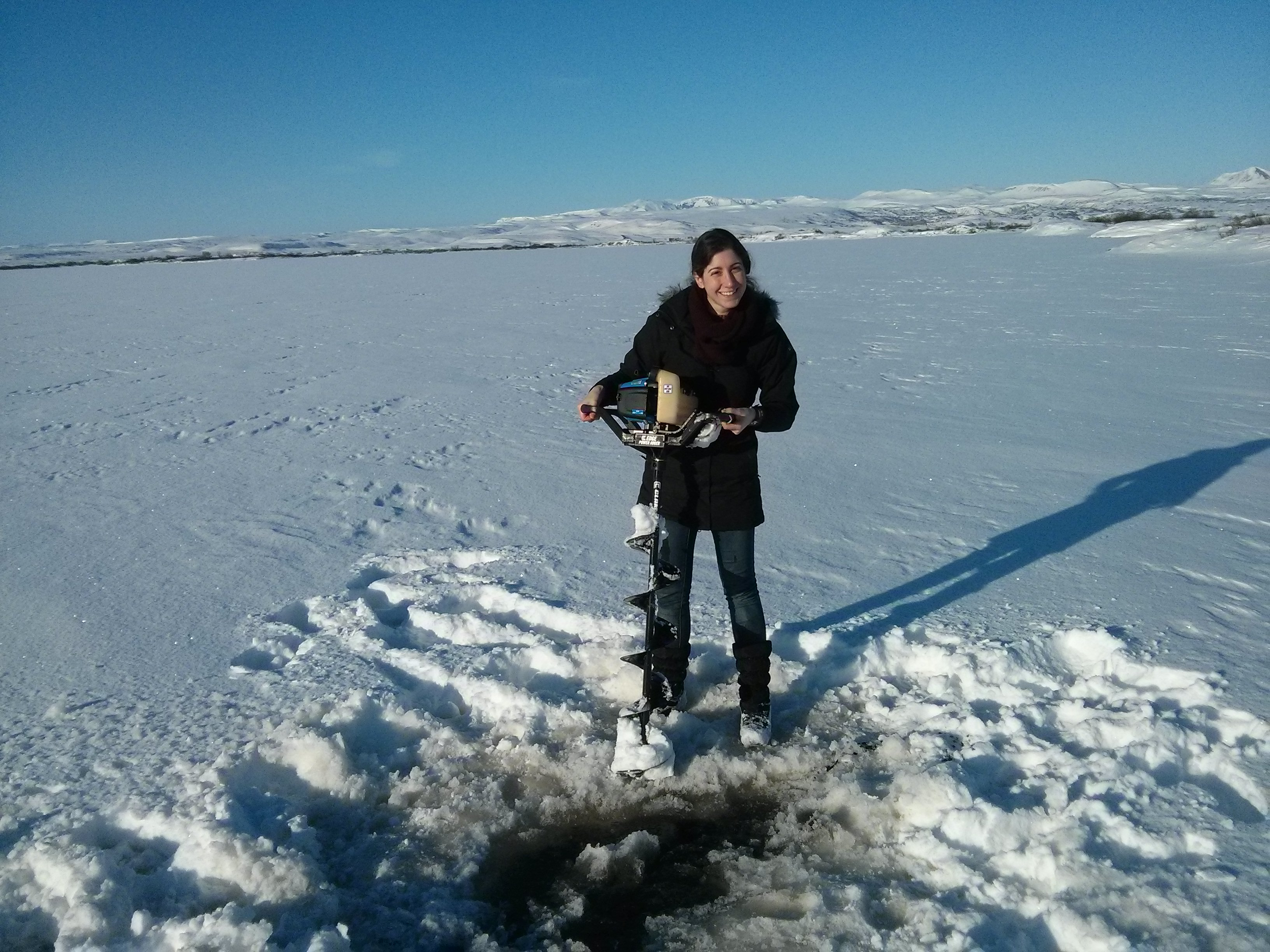 Fieldwork in Iceland