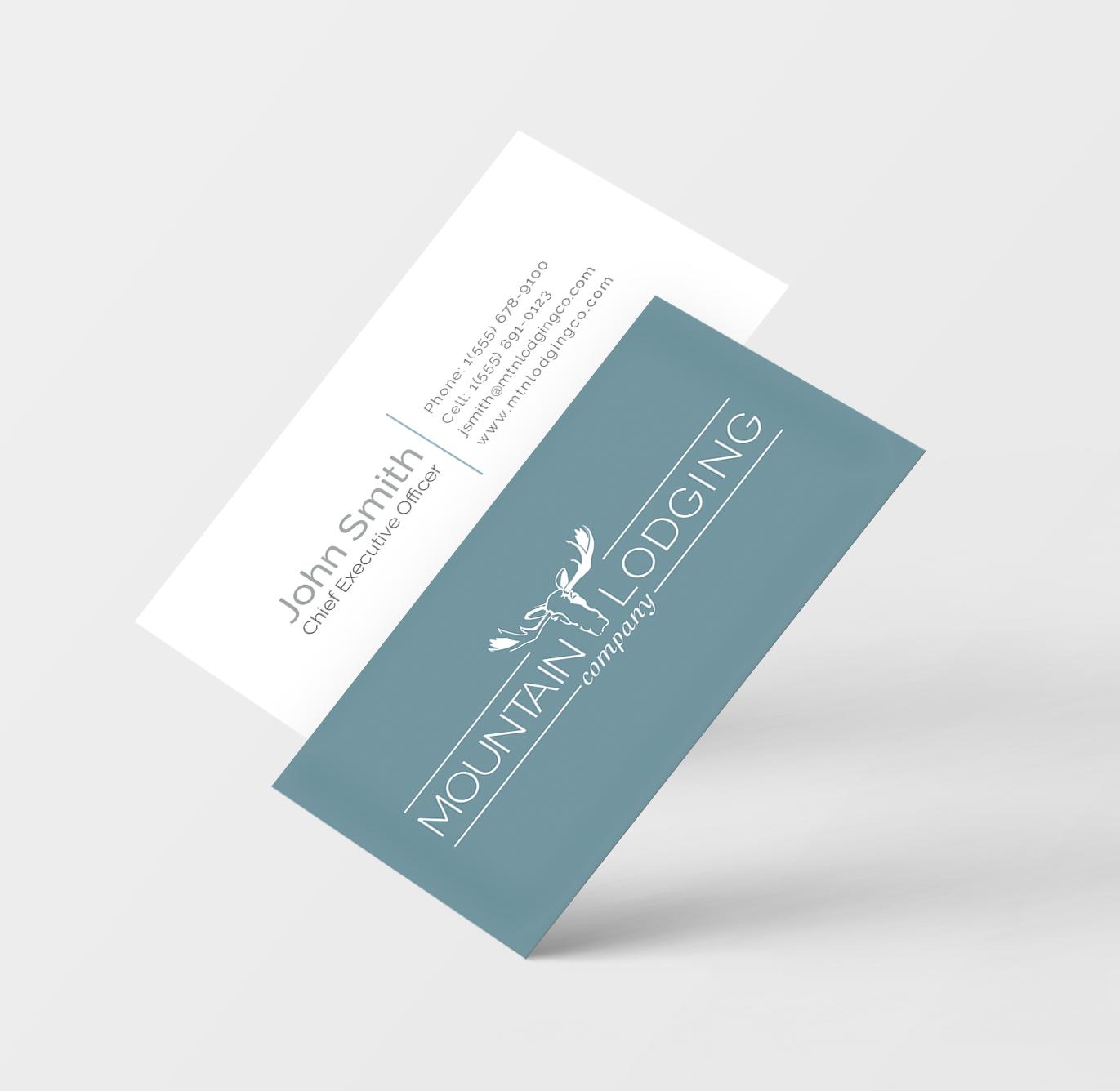 Mtn_Lodging_Business Card Mockup