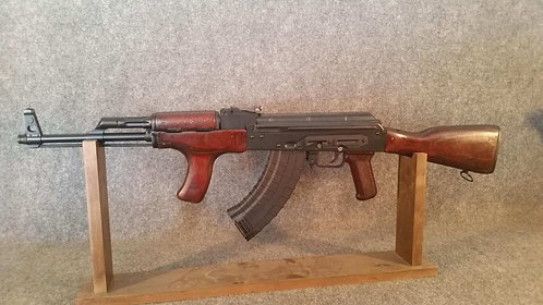NGS 1973 Romanian Md63 AKM47 Fixed Stock with surplus wood furniture.