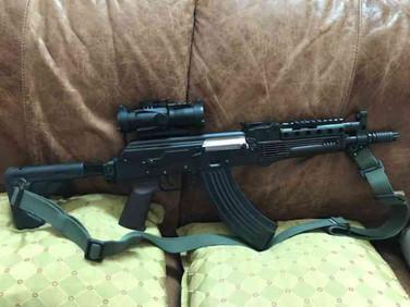Custom Polish Lynx SBR AK47