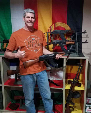 A man and his AK's