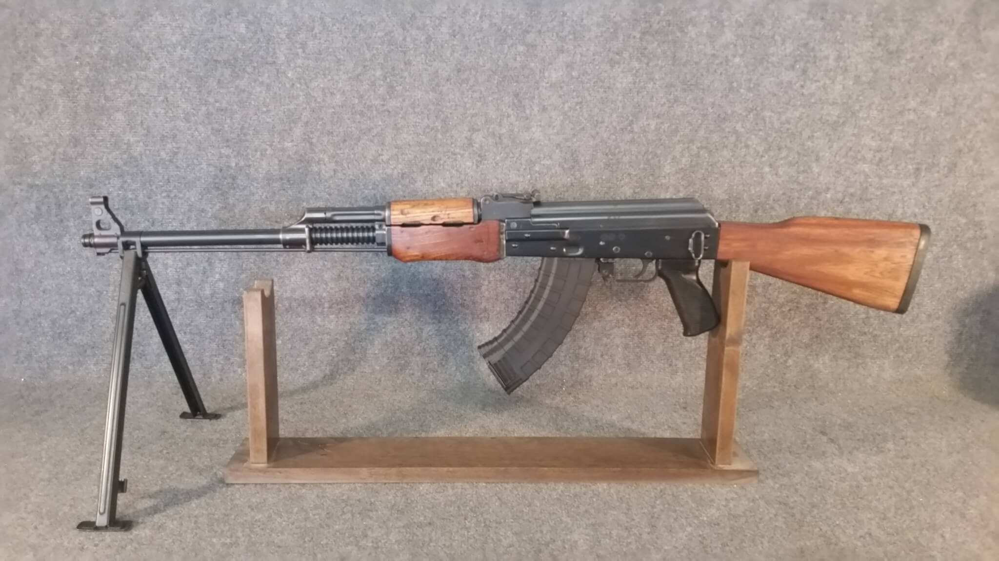 NGS Yugo M72B1 BFPU with surplus wood furniture