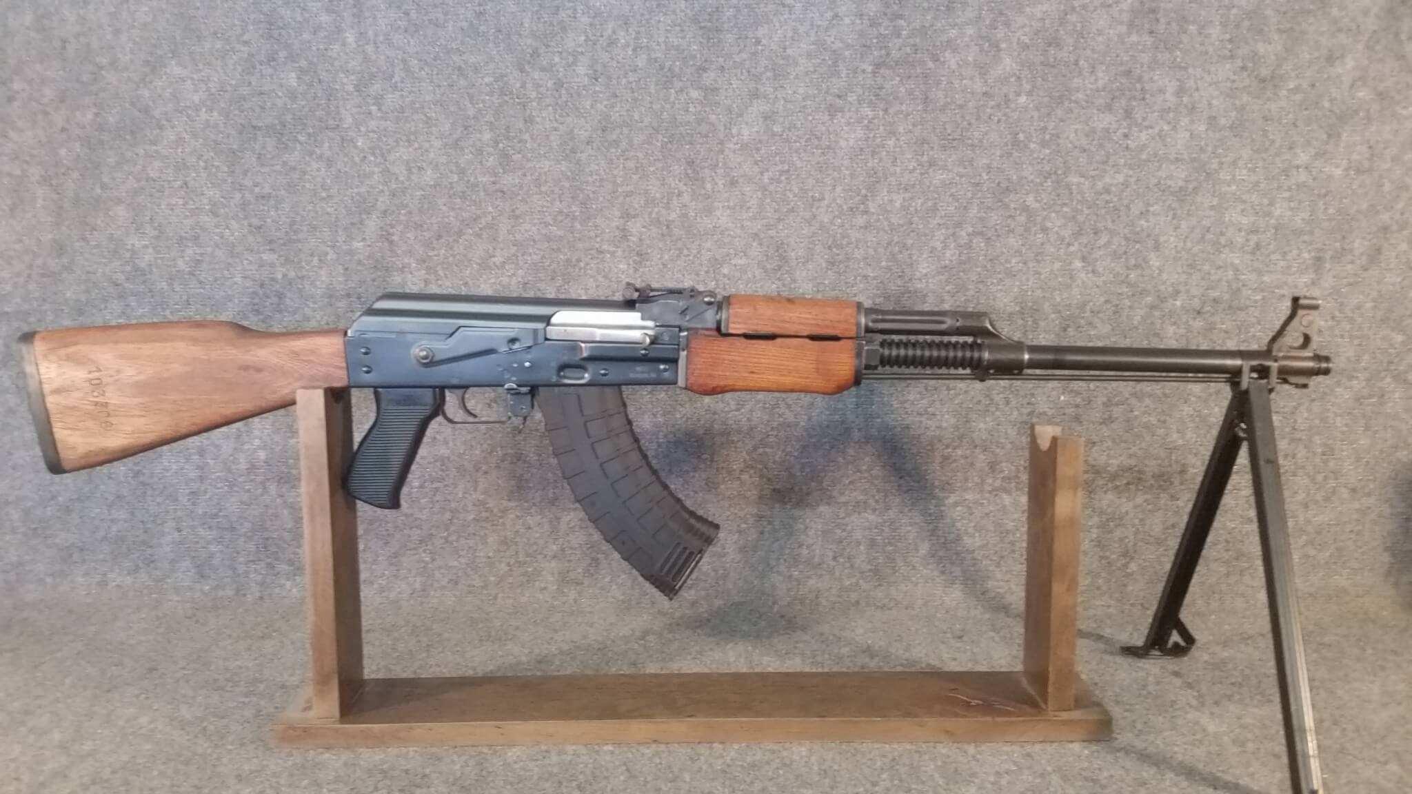 NGS Yugo M72B1 BFPU with surplus wood furniture