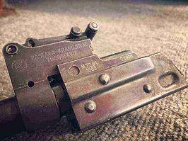 Yugo M72 trunnion and sight block AK47