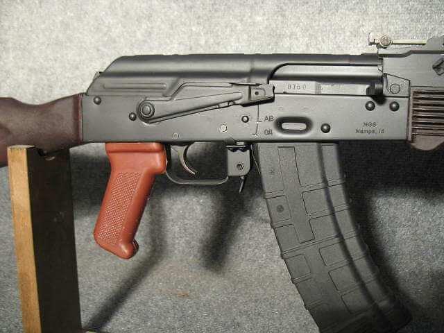 Bulgarian AK74 Fixed Stock With Surplus Plum Furniture.
