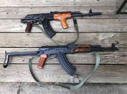 Romanian AIMS74 and Polish AKM