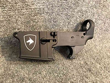 Custom shield on AR lower