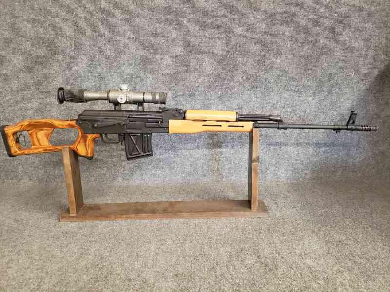 Romanian PSL-54C Sniper Rifle 7 62x54r
