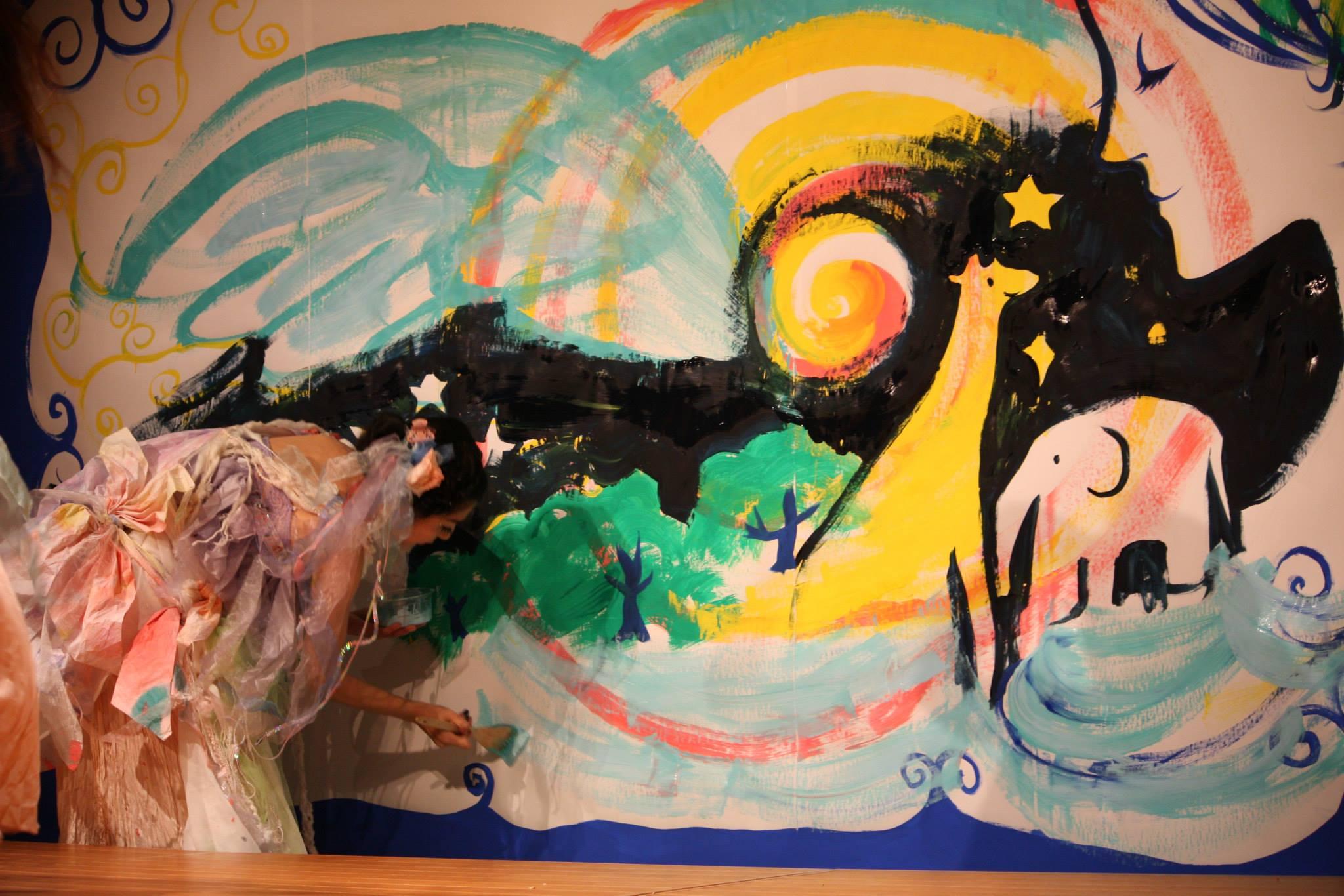 Live Painting 義村京子