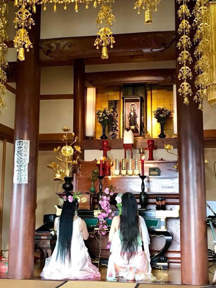 4/8 花まつり*お寺LIVE〜2018 蓬莱花舞歌〜 蓬莱山長谷寺