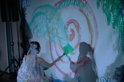 義村京子 Live Painting