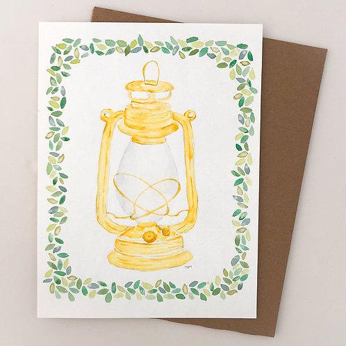 Lantern Watercolor