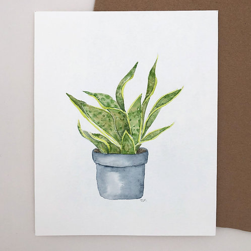 Plant Watercolor