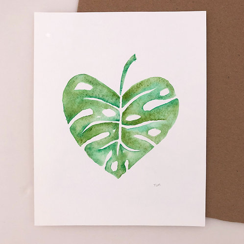 Leaf Watercolor