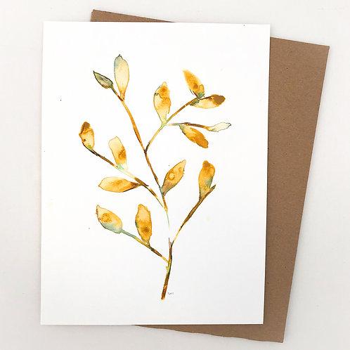 Branch Watercolor