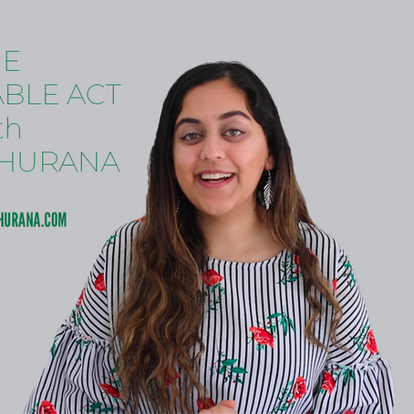 The Sustainable Act with Smiely Khurana - New Series