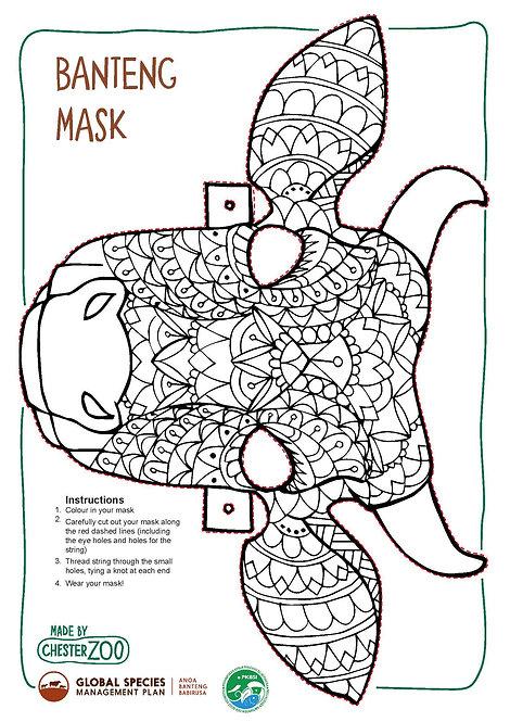 Banteng Mask