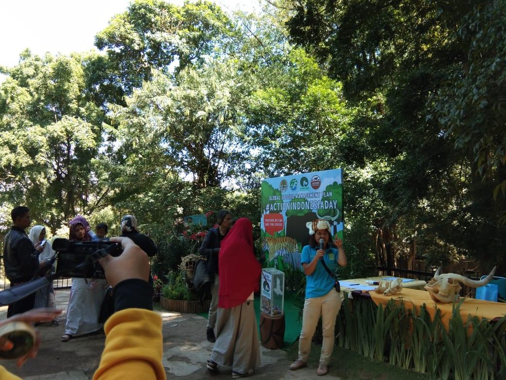 Action Indonesia Day di Bandung Zoologic