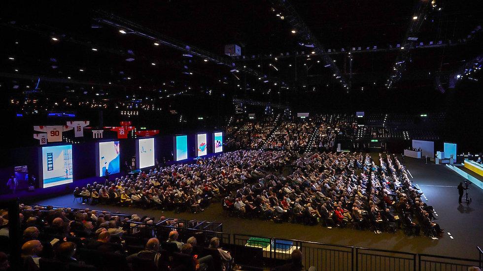 Generalversammlung 2019 - Hallenstadion Zürich