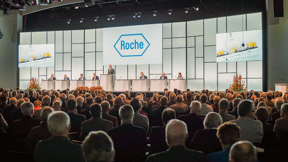 Roche Holding AG Generalversammlung 2019 - Congress Center Basel
