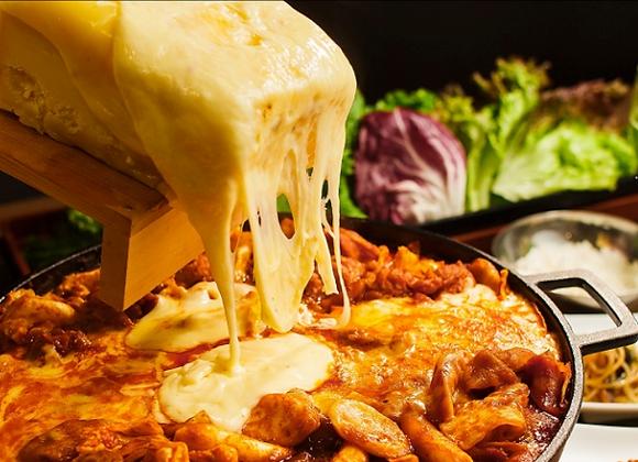 【韓辛DELI】チーズダッカルビ2人前×2pc