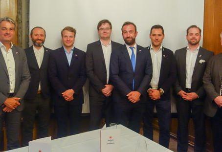 """Im Sommer 2019 wurde der """"Business Club Luxemburg-Schweiz"""" gegründet."""