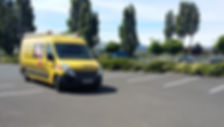 traçage de ligne sur route voirie france marquage signalisation Aubière
