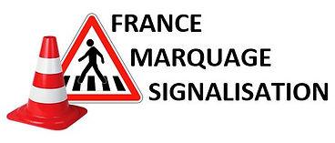 logo francemarquagesignalisation : marquage au sol et signalisation dans le puy-de-dôme et en auvergne