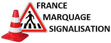 logo france marquage signalisation : marquage au sol dans le puy-de-dôme et en auvergne