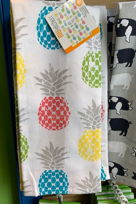 MUKitchen cotton towel - pineapples
