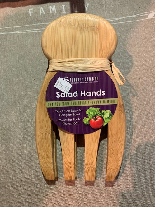 Bamboo salad hands