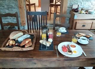 Breakfast at Les Trois Prunelles