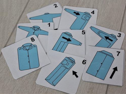 """Схема складывания """"Рубашка"""""""