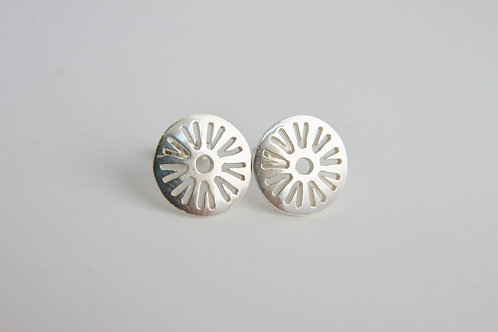 Diatom Stud Earrings