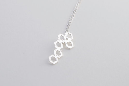 Minimal Hexagons Collection Pendant