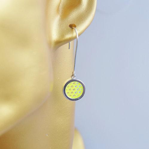 Drop Earrings Yellow
