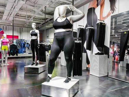 O manequim da Nike e a gordofobia de Tanya Gold
