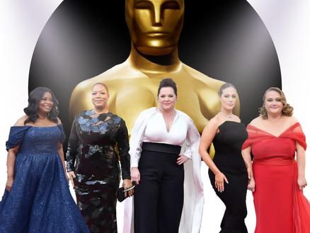 Moda plus size no Oscar 2019