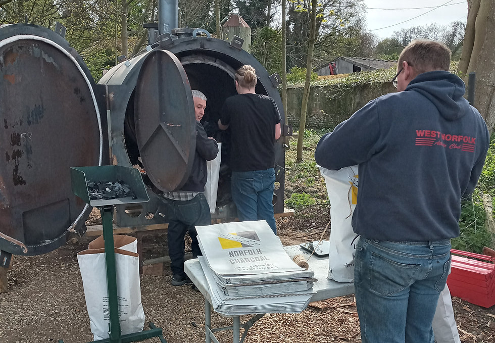 Charcoal Making Experiences