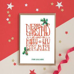 Christmas-card-P-typographic