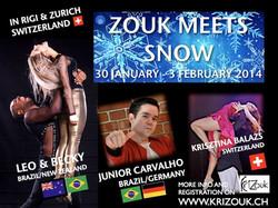 Zouk Meets Snow - Zurich