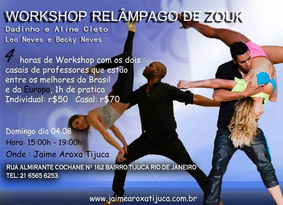 Workshop Relampago de Zouk - Brazil