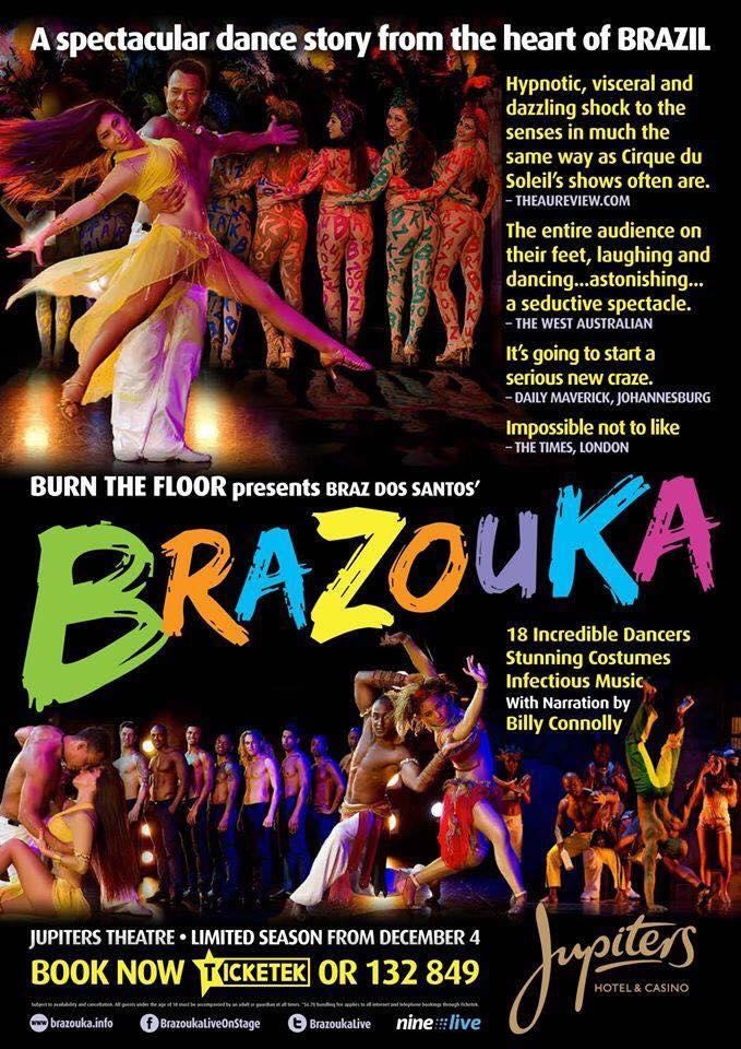 Brazouka in Theatres - Australia